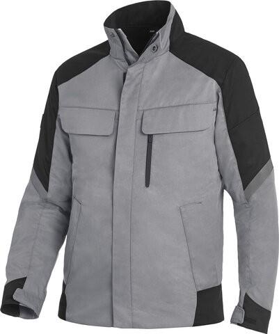 FRANK Arbeitsjacke, grau-schwarz