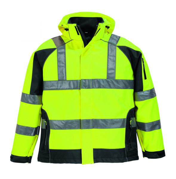 FELIX Warnschutz-Softshell-Jacke