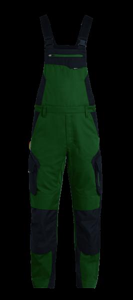 PASCAL Latzhose, grün-schwarz