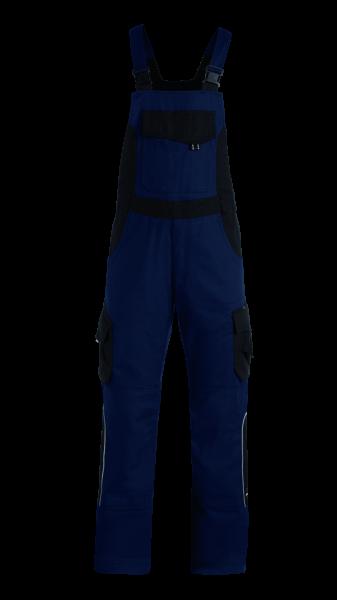ECKHARD Latzhose Twill, marine-schwarz