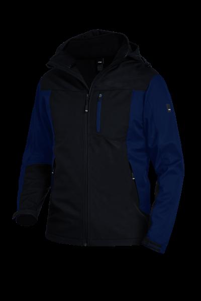 RALF Jersey-Fleece-Jacke FHB Fastdry, marine-schwarz
