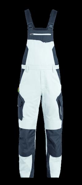 PASCAL Latzhose, weiß-anthrazit