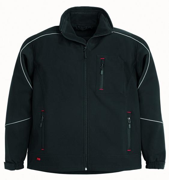 DIRK Softshell-Jacke, schwarz