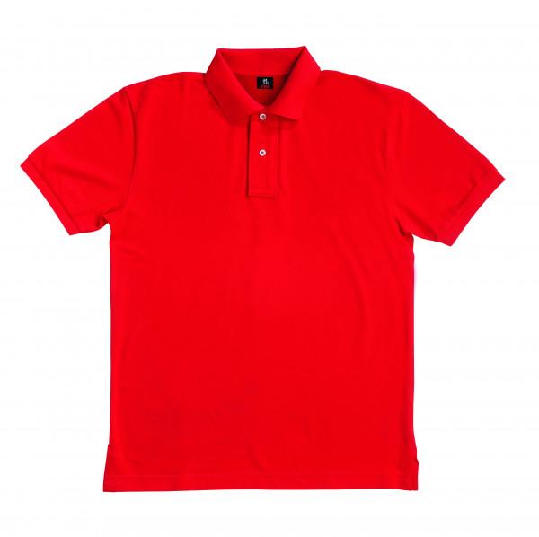 DANIEL Polo-Shirt, rot