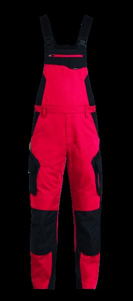 PASCAL Latzhose, rot-schwarz
