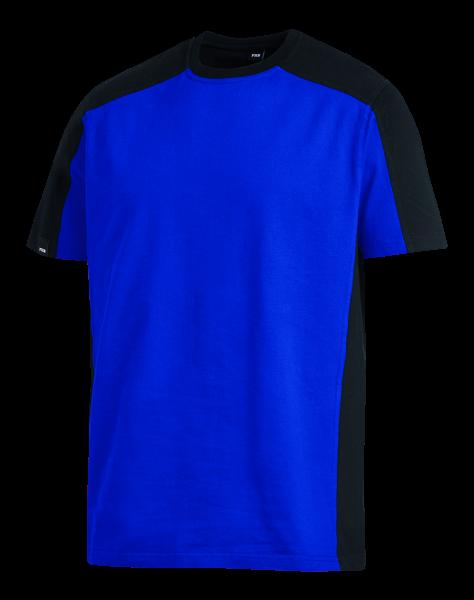 MARC T-Shirt, royal/schwarz
