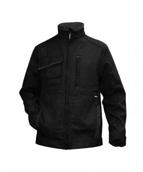 KENT Canvas Arbeitsjacke, schwarz/grau