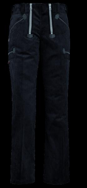 FHB GRETA Zunfthose Genuacord, schwarz