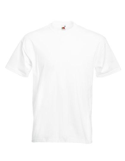 Super Premium T-Shirt, weiß