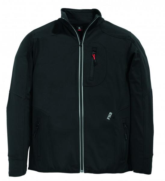 RALF Jersey-Fleece-Jacke FHB Fastdry, schwarz