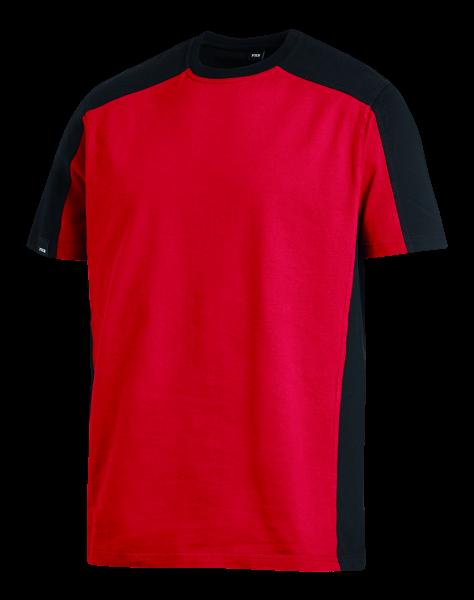 MARC T-Shirt, rot/schwarz