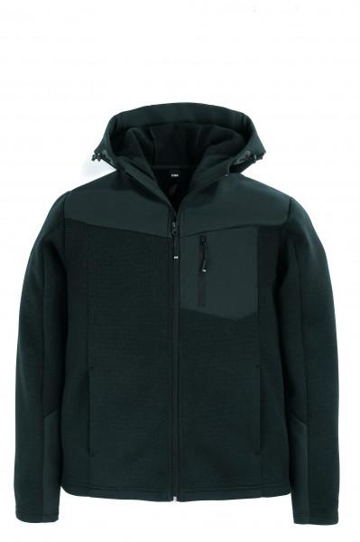 MAXIMILIAN Hybrid-Softshell-Jacke, schwarz