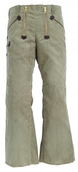 FHB FALK Zunfthose Genuacord, 65 cm Schlag, beige