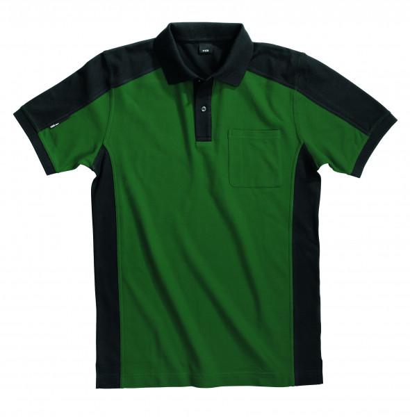 KONRAD Polo-Shirt, grün-schwarz