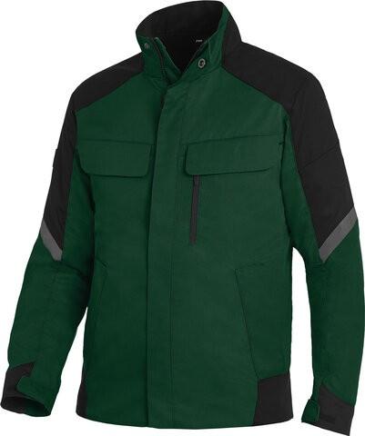 FRANK Arbeitsjacke, grün-schwarz