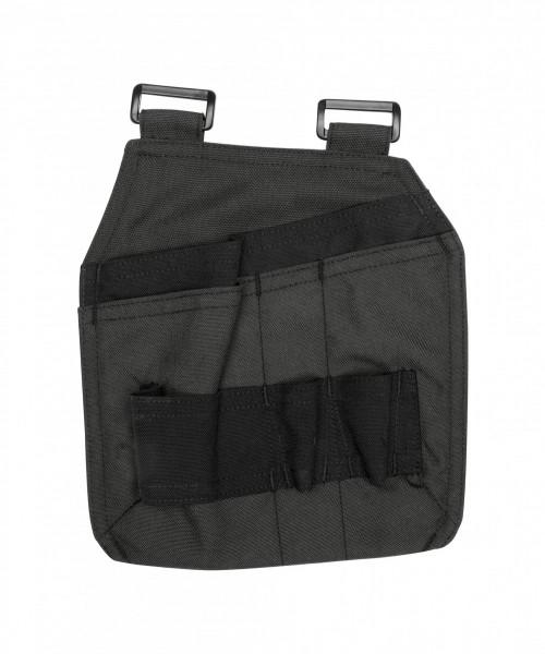 Dassy GORDON Canvas Werkzeugtasche, grau/schwarz