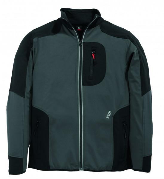 RALF Jersey-Fleece-Jacke FHB Fastdry, anthrazit-schwarz