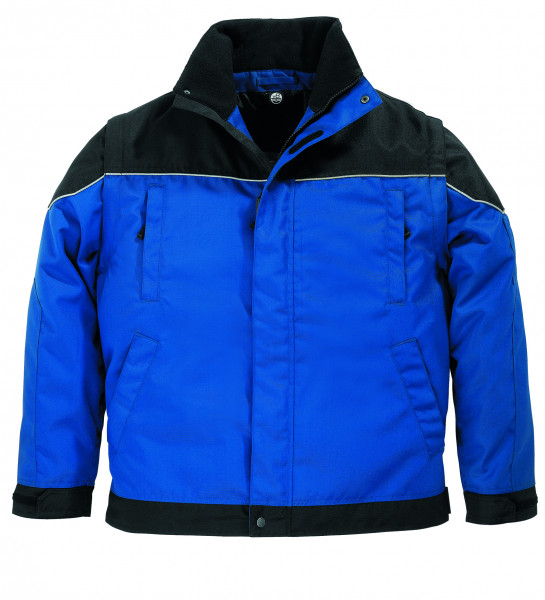 TOM Arbeitsjacke 2 in 1, royalblau-schwarz