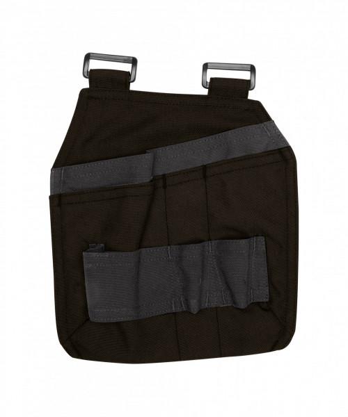 Dassy GORDON Canvas Werkzeugtasche, schwarz/grau