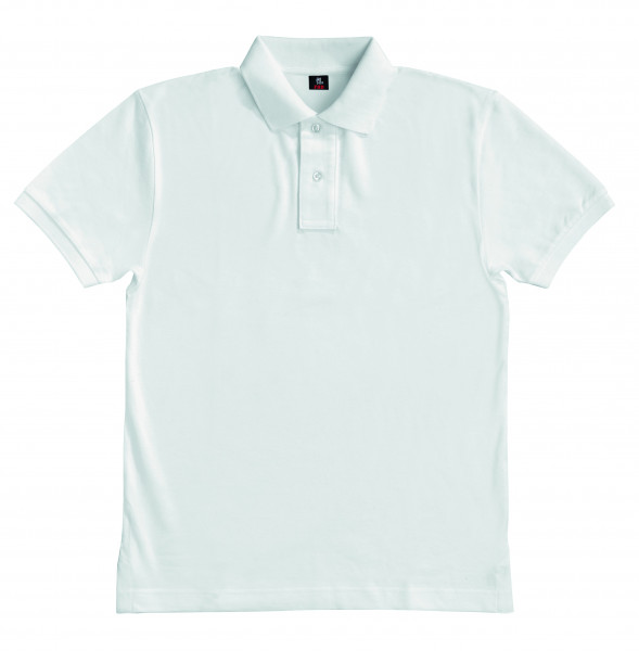 DANIEL Polo-Shirt, weiß